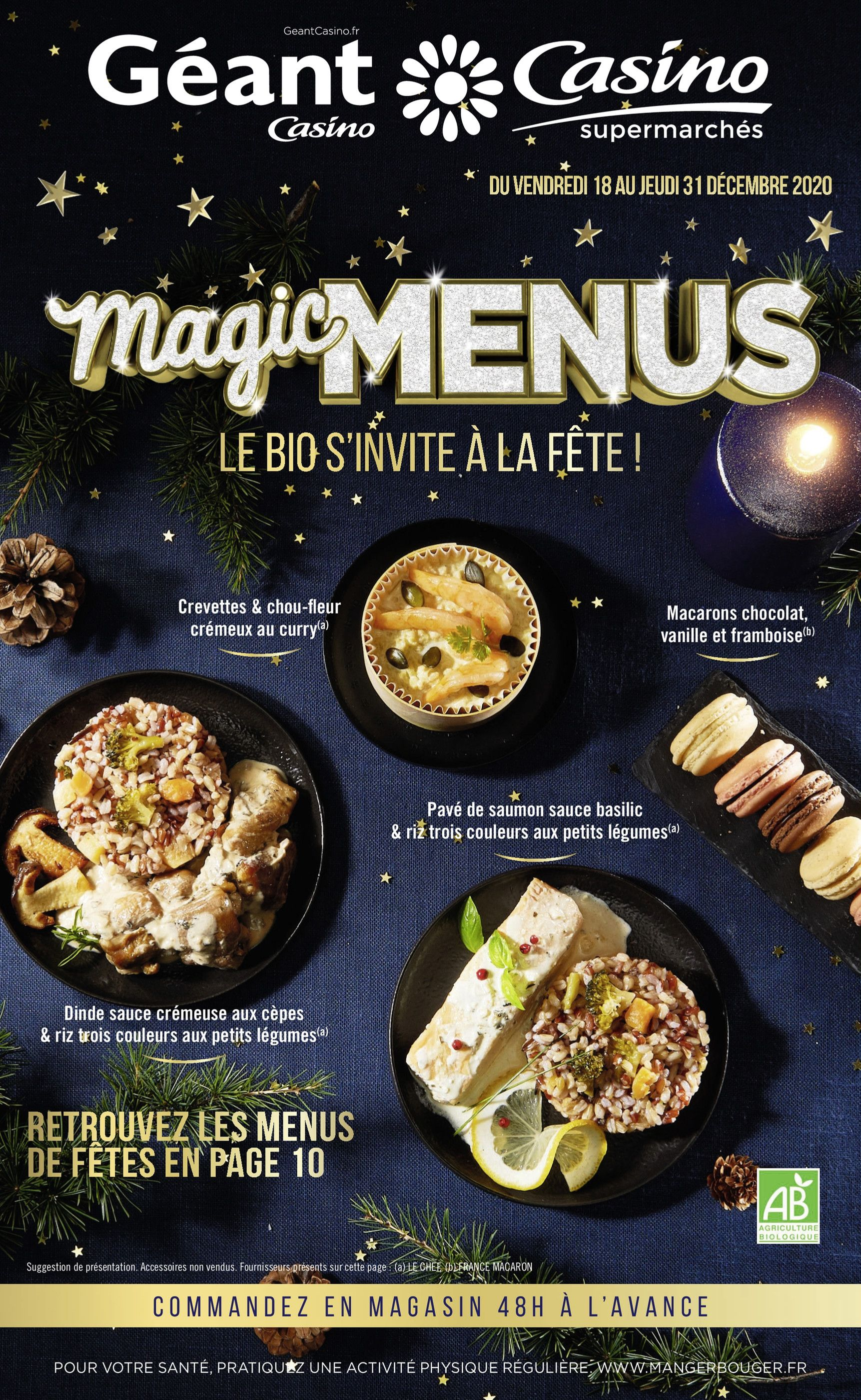 Magic menus