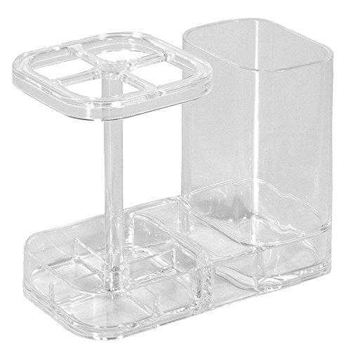 Rangement de médicaments et nécessaire de salle de bain pour les fournitures dentaires - transparent 0081492434306 InterDesign