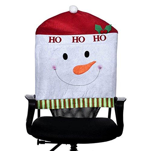 Noel bonnet chaise housse rouge (1pc - 57*49cm) 0644741913733 Ouneed®