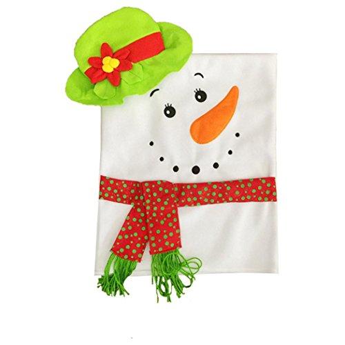 Noel bonnet chaise housse rouge (1pc- 60*42*50cm) 0644741913832 Ouneed®
