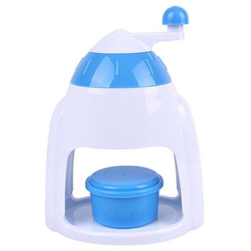 mylifeunit Broyeur à glace pour la maison, Broyeur À Glace Manuel avec bol, assorti bleu 0743270879081 MyLifeUNIT