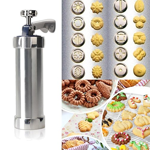 quickcor (TM) Hot Cookie Machine de presse biscuits Cuisine Outil de décoration de gâteau biscuit Maker cuisson Set à Pâtisserie OUTILS Cookie moule (Lot de 20 moules) 0753760577892 Quickcor