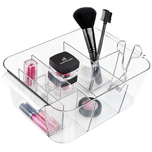 0841247100487 MetroDecor Panier plateau mDesign pour le rangement de cosmétiques. Convient aux ...