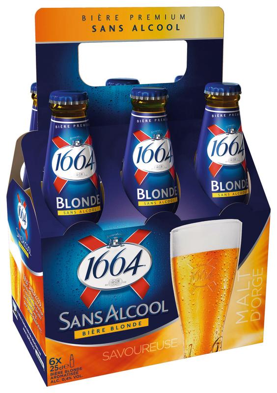 BIÈRE BLONDE SANS ALCOOL 3080216041254 1664