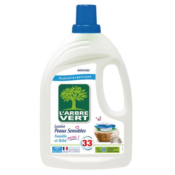 Lessive liquide hypoallergénique 3450601031793 L'ARBRE VERT