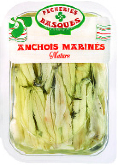 "ANCHOIS MARINÉS NATURE ""PECHERIES BASQUES"" 3456700083305"