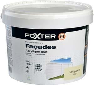 3601029861039 Foxter Peinture Facade Acrylique