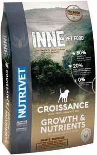 Croquettes Chiot Croissance Nutrivet 3760080533160