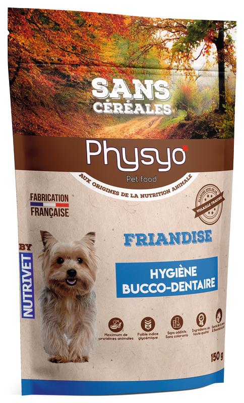 FRIANDISES CHIEN HYGIÈNE BUCCO-DENTAIRE 3760080534853 Physyo