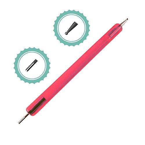 Quilling stylo :  env. 12 cm de long, 2, prägespitze fonctions rose 4260427530283 Générique