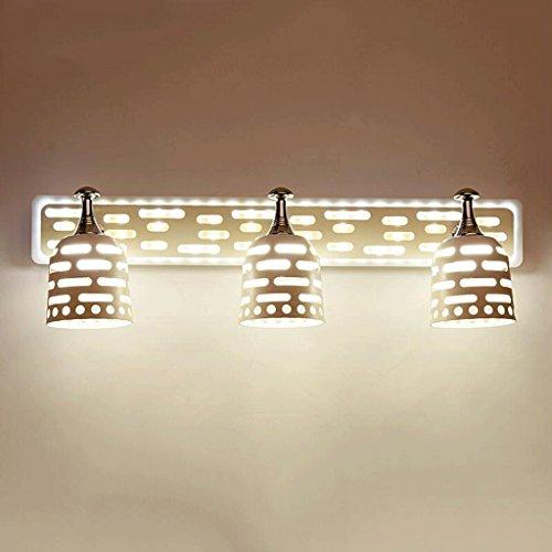 QZz salle de bain Lampe de miroir avec lampe de mur moderne ( couleur : Warm White B , taille : 21w48.5 Cm ) 4309674617085 QZz Eclairage pour coiffeuse