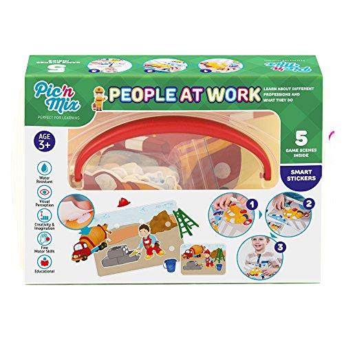 4600151120099 Picnmix Les gens au travail jeux éducatifs et jouets éducatifs pour les enfants de ...