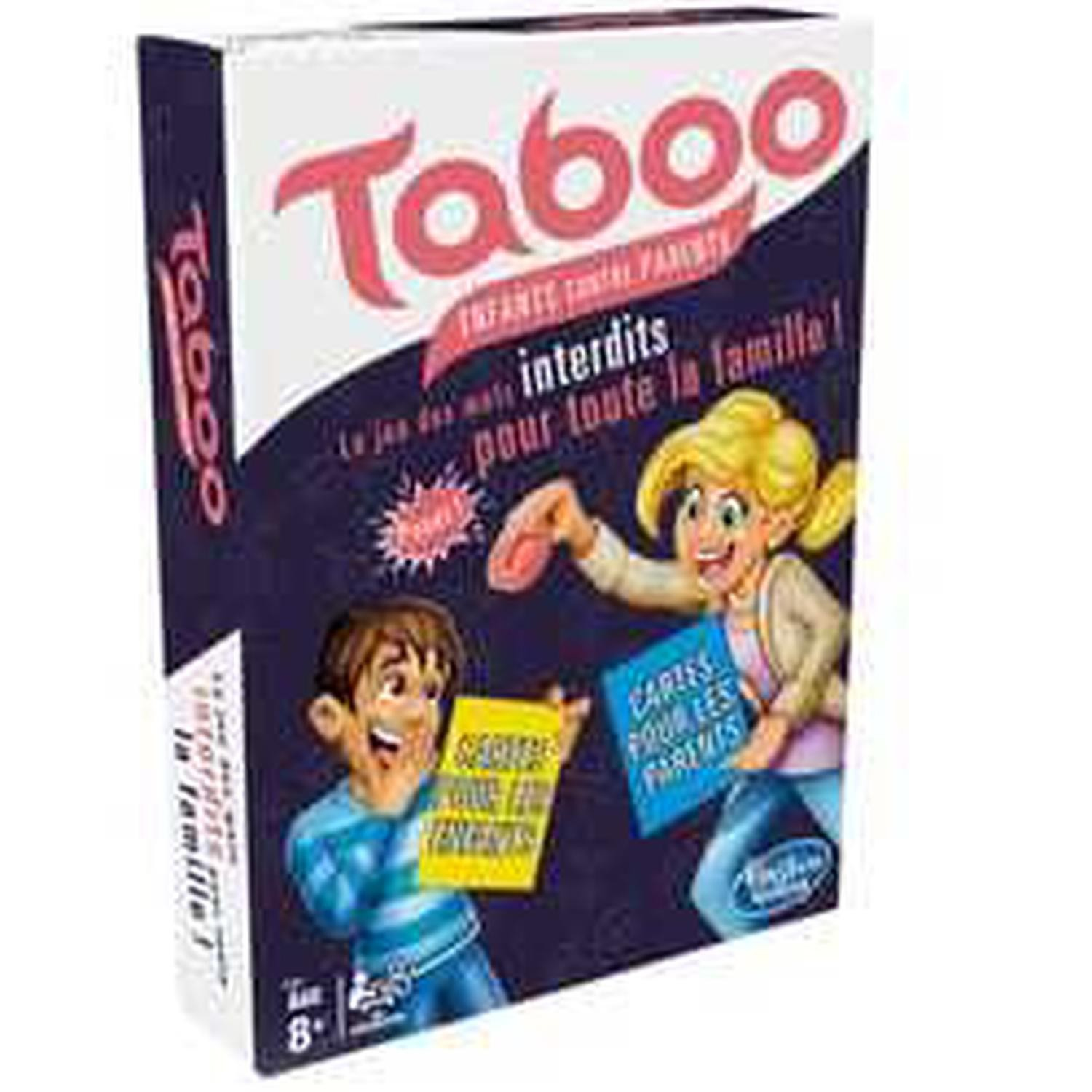 Jeu Taboo Enfants contre parents HASBRO