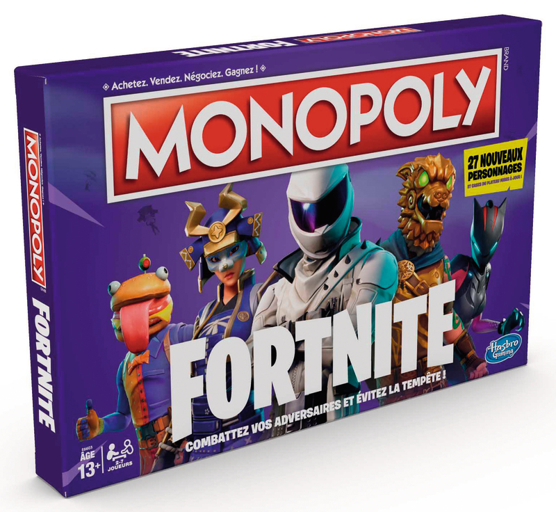 MONOPOLY FORTNITE Hasbro gaming