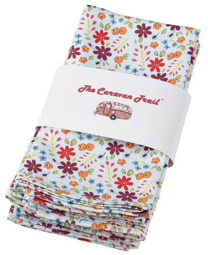 Queens The Caravan Trail Lot de 4 serviettes de table 5011109282384 The Caravan Trail