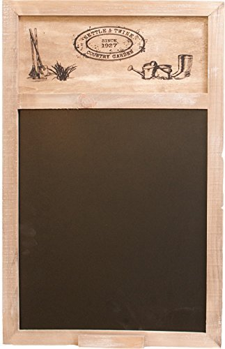 Nettle And Twine Blackboard ~ 50 X 34Cm Shabby Chic Style Memo Board by Carousel Home 5024418706908 Carousel Home