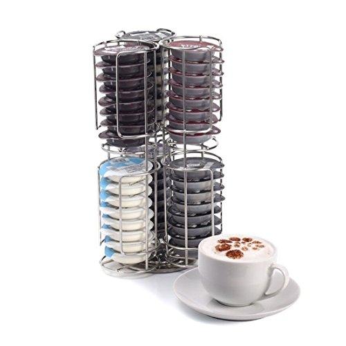 Acier inoxydable 48 dosettes de café capsule support et distributeur pour tassimo 6025716650510 Kabalo
