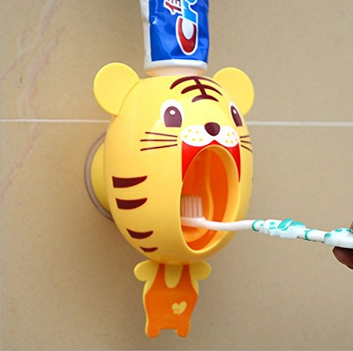 Mains libres auto dentifrice squeezers cartoon ...