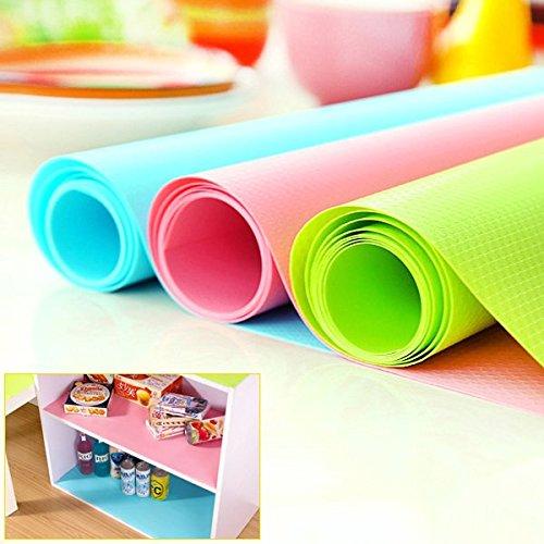 Antimicrobiens humidité papier pad armoires à tiroirs antidérapante mat mat armoire bleu 6947135511473 Bleulover