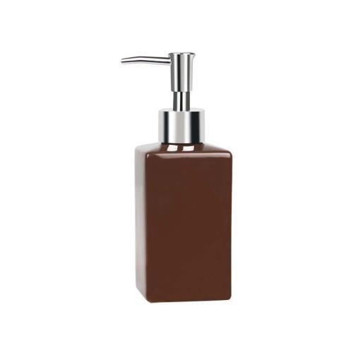Quadro distributeur de savon grès marron 16,5 x 6,5 cm 7610583136589 Spirella