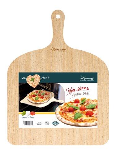 Natural Beechwood Pizza Paddle/Peel 8017790006060 Kitchen Craft