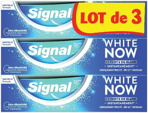 "DENTIFRICE ""SIGNAL WHITE NOW"" 8710522469866"