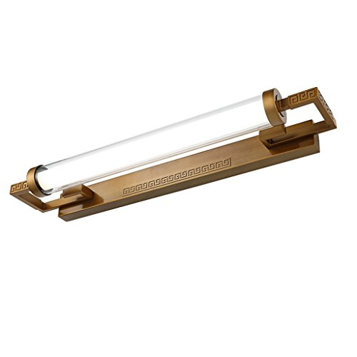 QZz salle de bain Retro Miroir Front lampe Miroir salle de bains Cabinet Lampe Dresser Lampe ( taille : 15w87cm ) 9432056902655 QZz Eclairage pour coiffeuse