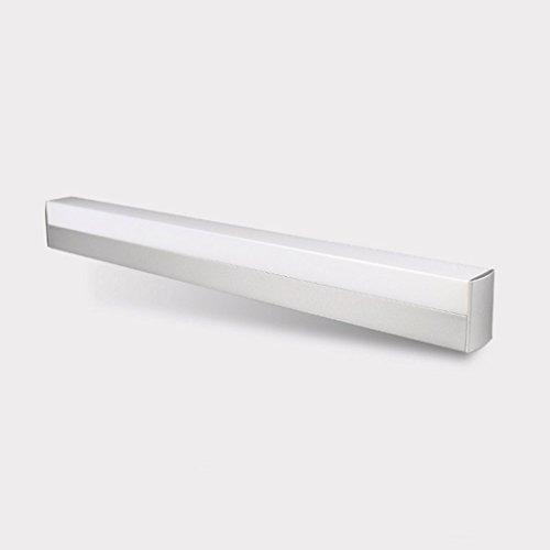 QZz salle de bain Miroir LED Light Minimaliste moderne lampe de salle de mur salle de bains toilettes Mirror Cabinet Vanity Mirror Sous-lampe ( couleur : Blanc chaud , taille : 20w90cm ) 9496123670663 QZz Eclairage pour coiffeuse