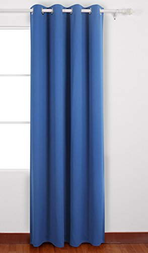 b01k1jmugq deconovo rideau occultant chambre de haute precision a oeillets 135x240cm isolant thermique pour placard bleu